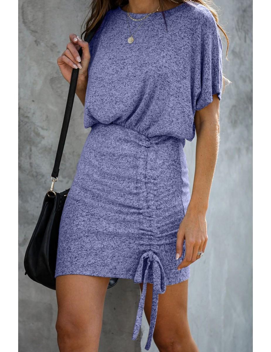 Strapless denim dress